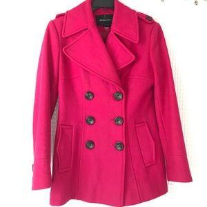 Woman's coat - XS Hot Pink